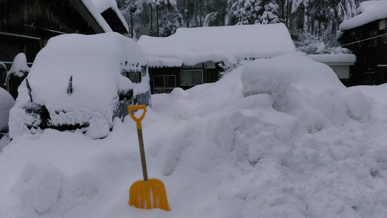 若狭 積雪